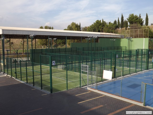 Padel for Piscina municipal ripollet