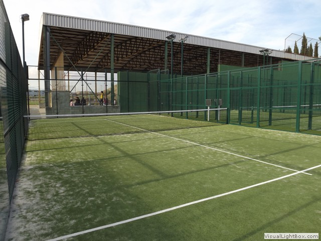 Padel for Piscina municipal ripoll